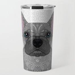 Blue French Bulldog Travel Mug