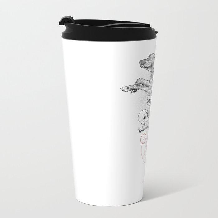 Partial Fractions Metal Travel Mug