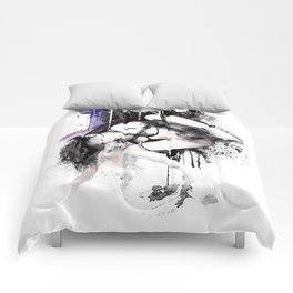 Shibari - Japanese BDSM Art Painting #11 Comforters