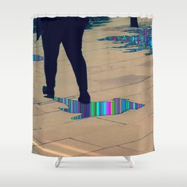 His Mind is Dark and Full of Errors 168 Shower Curtain