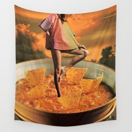 Queso Queen Wall Tapestry