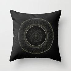 Inner Space 1 Throw Pillow