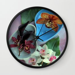 Pieces Of The Puzzle Wall Clock