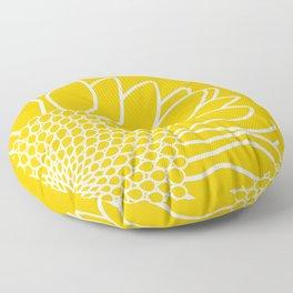 Sunflower Cheerfulness Floor Pillow