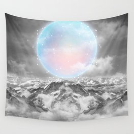 Places Neither Here Nor There (Guardian Moon) Wall Tapestry