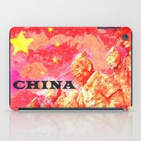 china iPad Cases featuring China by Brian Raggatt