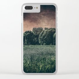 Twilight Dream Clear iPhone Case