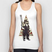 planet of the apes Tank Tops featuring Mafia apes by PRIMATE
