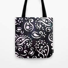 painted paisley Tote Bag