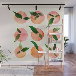 Abstract Orchard / Watercolor Fruit Wall Mural