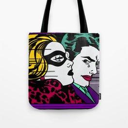 In the Jokermobile Tote Bag