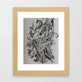 O velho Framed Art Print