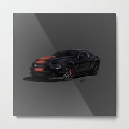 Mustang GT500 Metal Print