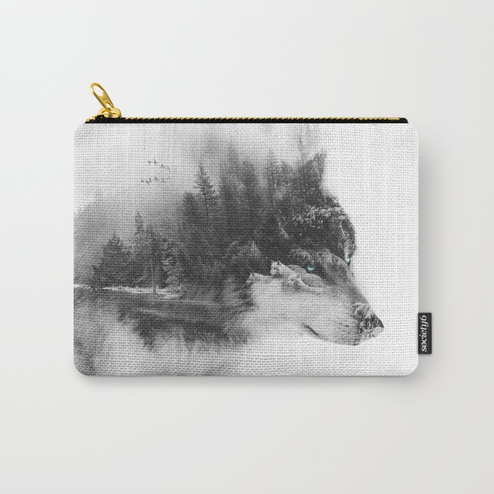 Wolf Stalking Carry-All Pouch