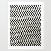 AZTEC N1 Art Print