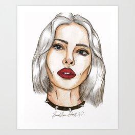 Jamie Fraîche Art Print