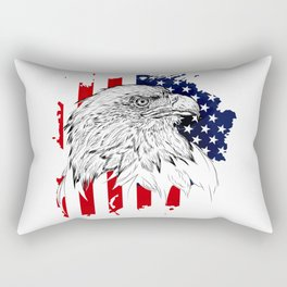 American Rectangular Pillow