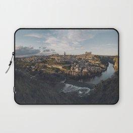 Toledo at sunset Laptop Sleeve