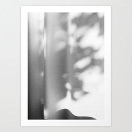 Shadows in balkony Art Print