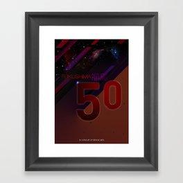 Fukushima 50 Framed Art Print