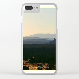 Beyond The Sunset Clear iPhone Case