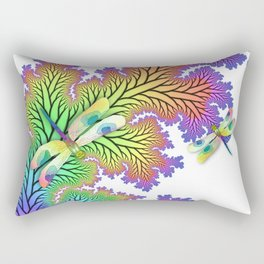 Dragonfly Forest Rectangular Pillow