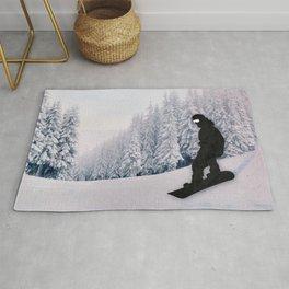 Snowboarding Rug