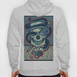 Rubino Logo Tattoo Skull Hoody