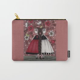 Snow-White and Rose-Red (1) Carry-All Pouch