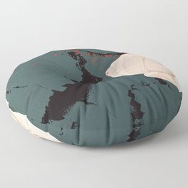 smashed Floor Pillow