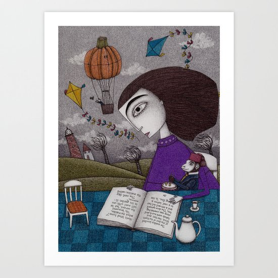 November Stories Art Print