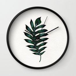 Monstera Ribcage Wall Clock