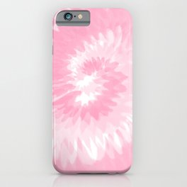 Pastel Pink Tie Dye  iPhone Case