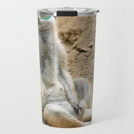 Sunny Meerkat Travel Mug