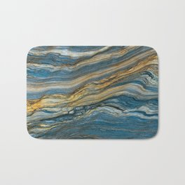 Colorfull stone in section Bath Mat