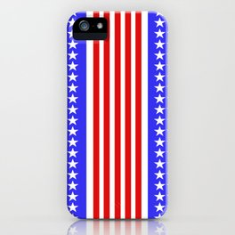 USA Flag Abstract Stars And Stripes iPhone Case