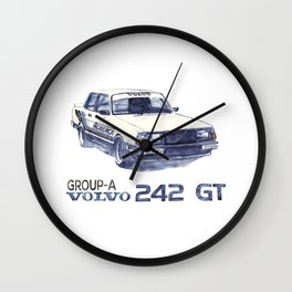 Volvo turbo Wall Clock