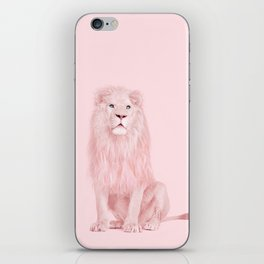 ALBINO LION iPhone Skin