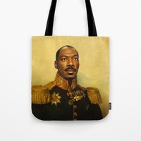 replaceface Tote Bags featuring Eddie Murphy - replaceface by replaceface