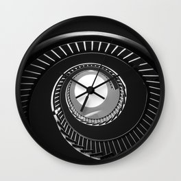 Spiral Eye Wall Clock