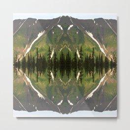 Dease Lake Dreams Metal Print