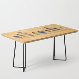 Midwest Feathers Coffee Table
