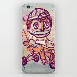 Tricycle Thuglife iPhone Skin