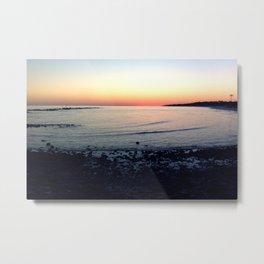 Sunset @ Dauphin Island Metal Print