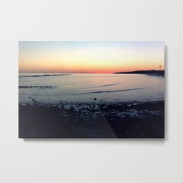 Sunset @ Dauphin Island Metal Print