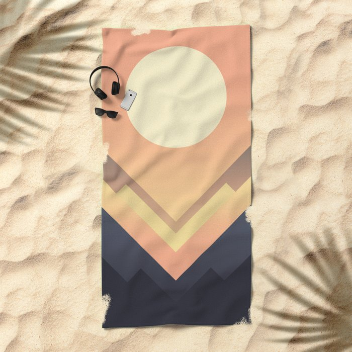 The Sun Rises Beach Towel