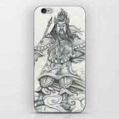 Gwan Gong iPhone Skin