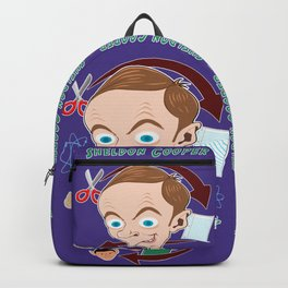 THE BIG BANG - SHELDON COOPER Backpack