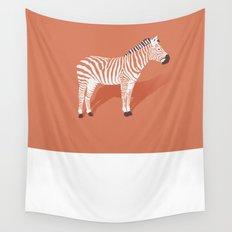 Animal Kingdom: Zebra I Wall Tapestry