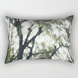 Beneath the Willow Tree Rectangular Pillow